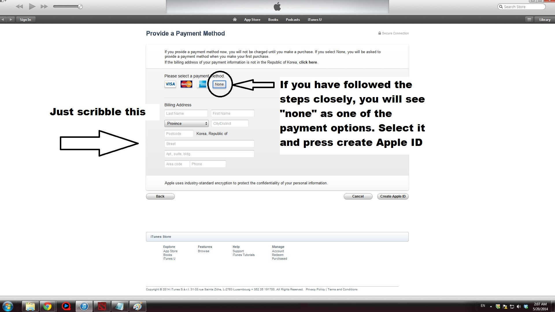 how to find my account on itunes store