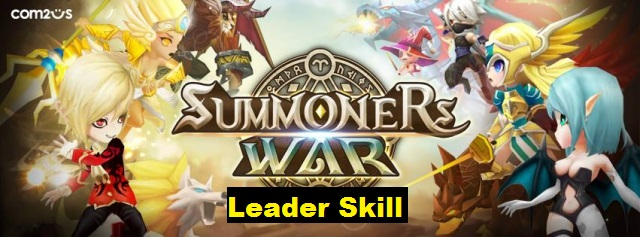 Summoners War : Leader Skill Chart (Updated new Monsters