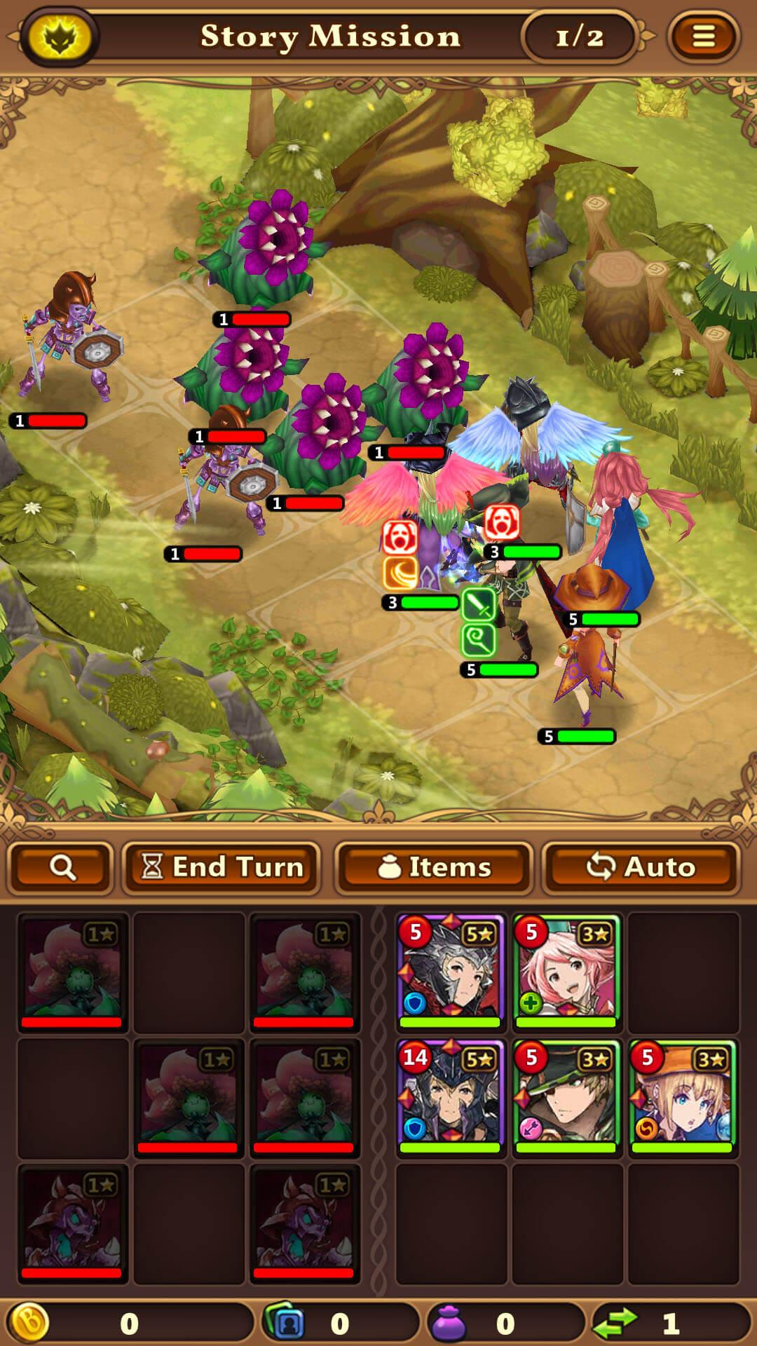 Valiant Force - Battle screenshot 1