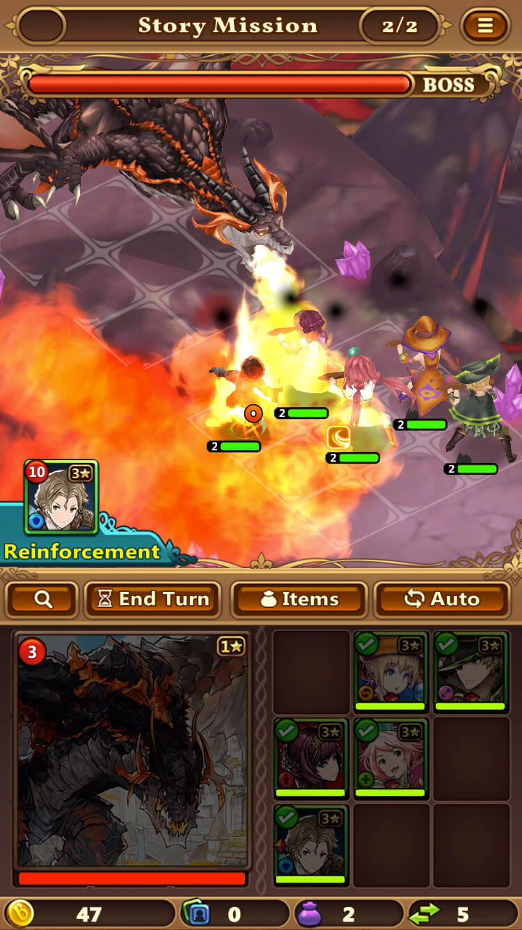Valiant Force - Battle screenshot 2