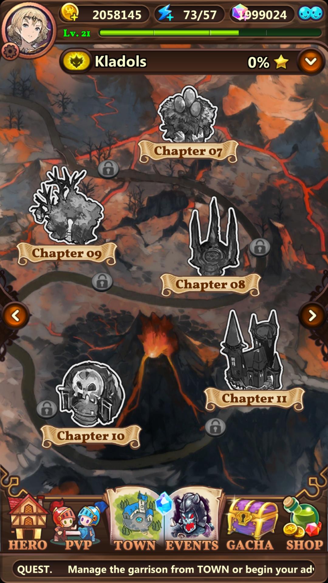 Valiant Force - Map screenshot