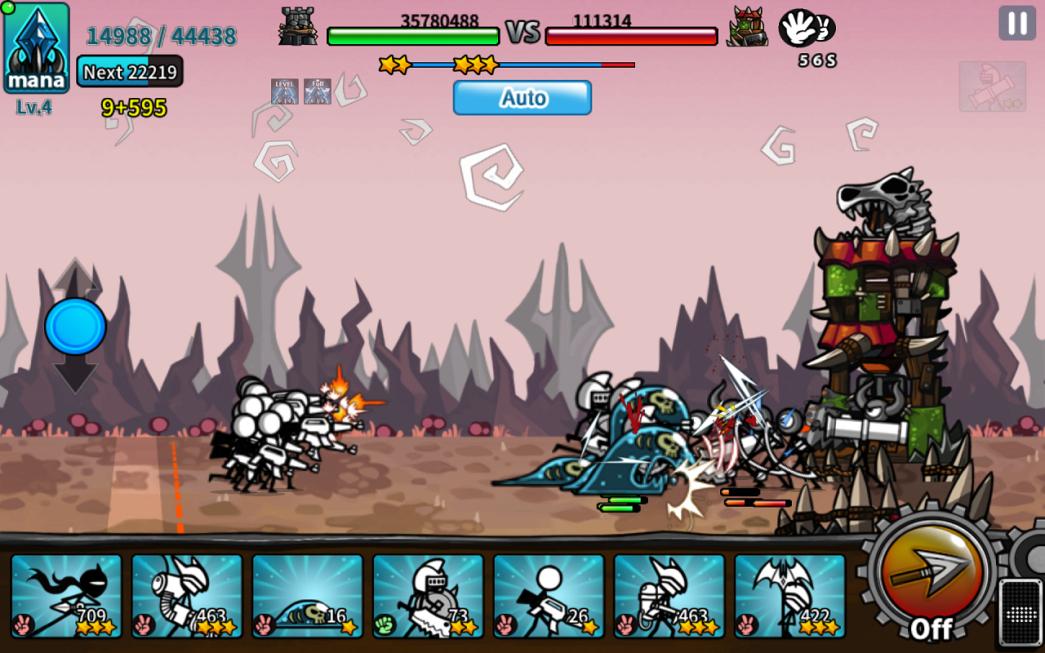 Cartoon Wars 2 Offline Mod Apk
