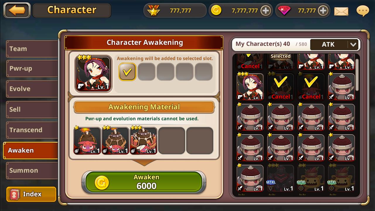 3 awaken