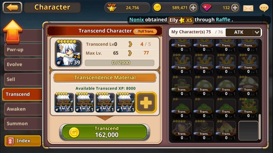 4 transcend