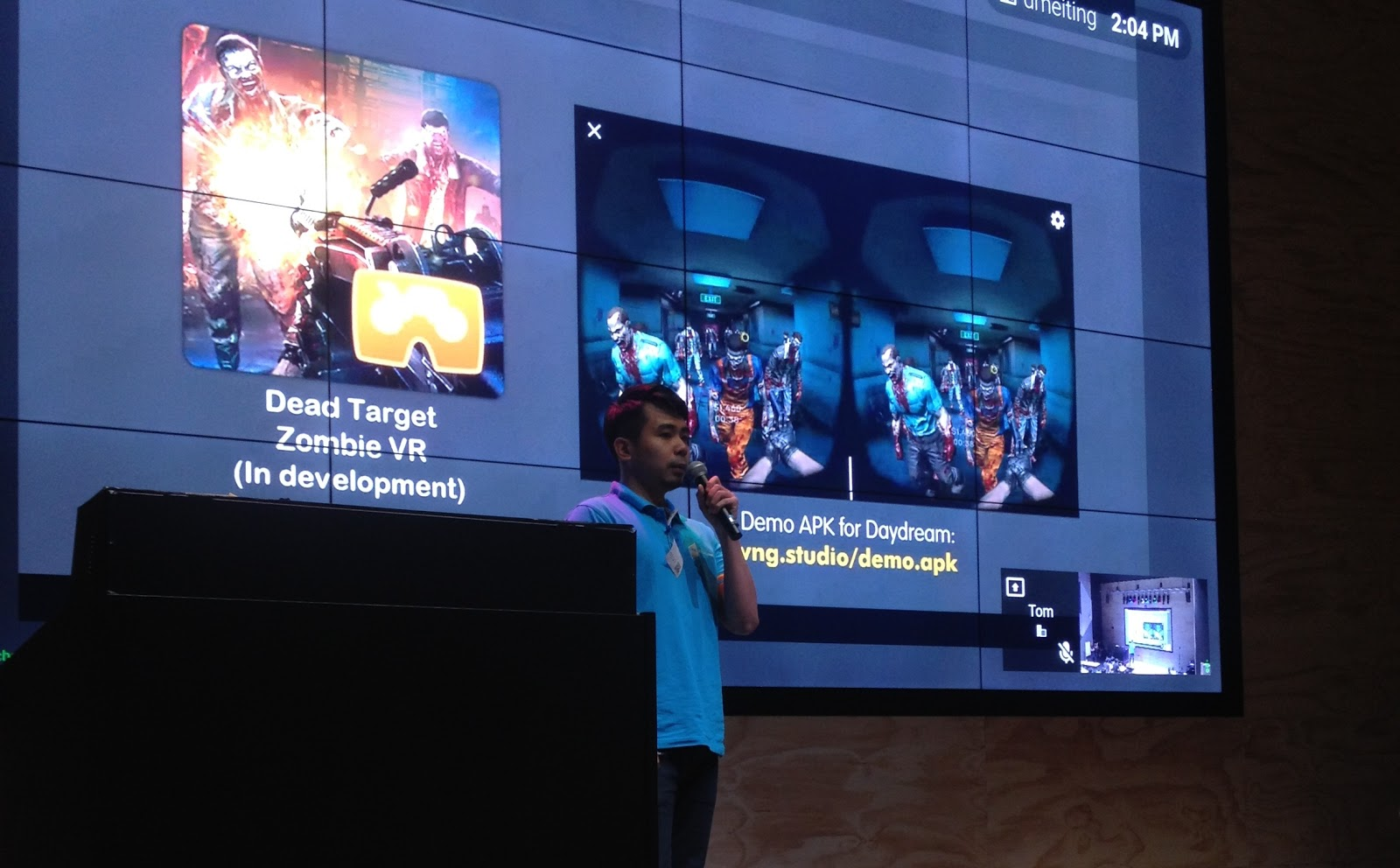 VNG Game Studios Unveils Dead Target VR at Google Daydream/Tango