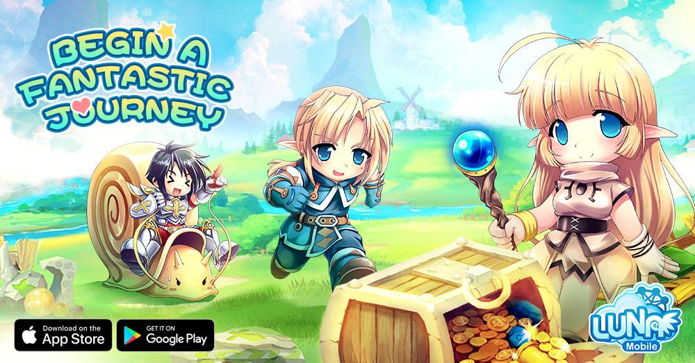 Begin Your Journey in Luna Mobile – Kongbakpao