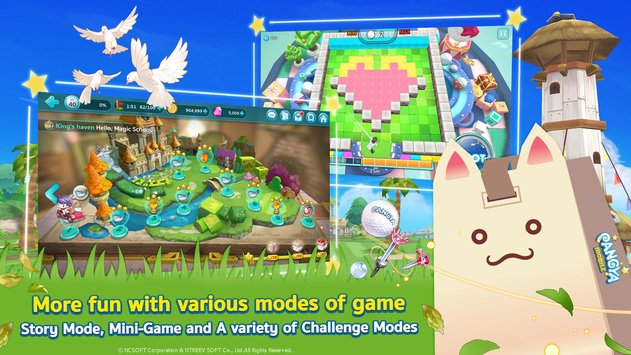 Line Pangya – Available Now on iOS and Android – Kongbakpao