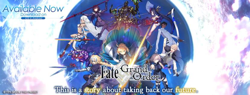 Fate/Grand Order – Now Available in Selected SEA Countries