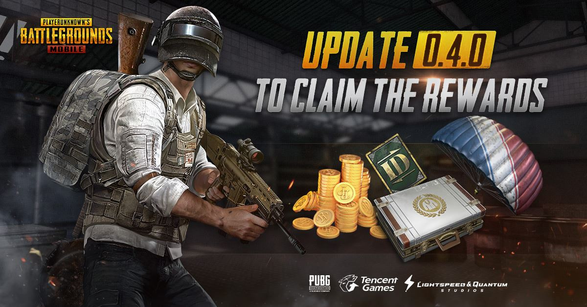PUBG Mobile – Version 0 4 0 Update Now Live! – Kongbakpao