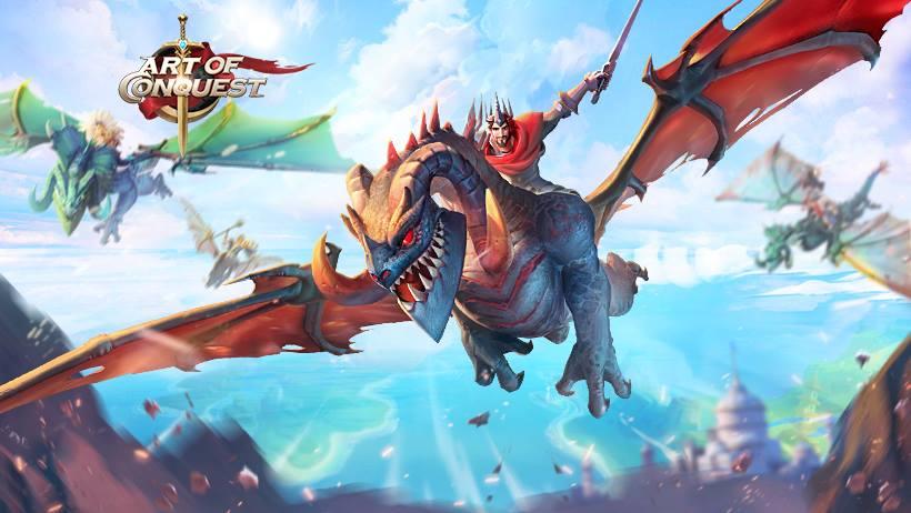 art of conquest dragons
