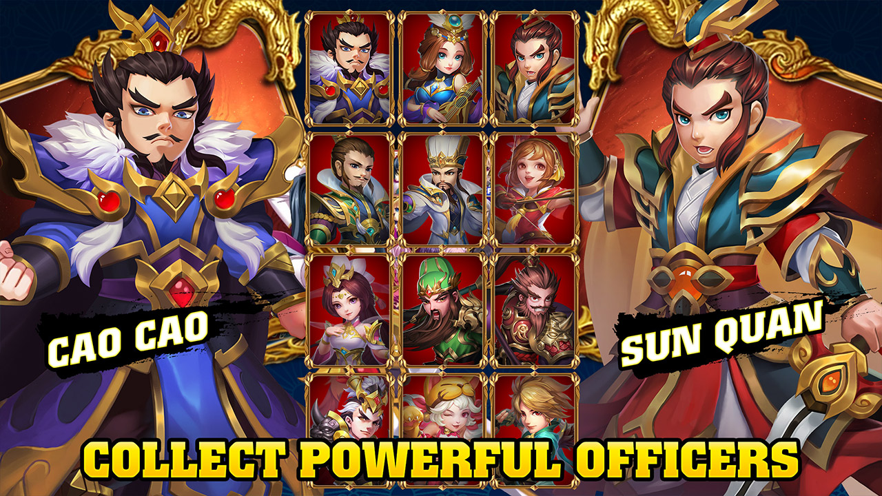 Three Kingdoms – Idle Games Pre-register Start! – Kongbakpao