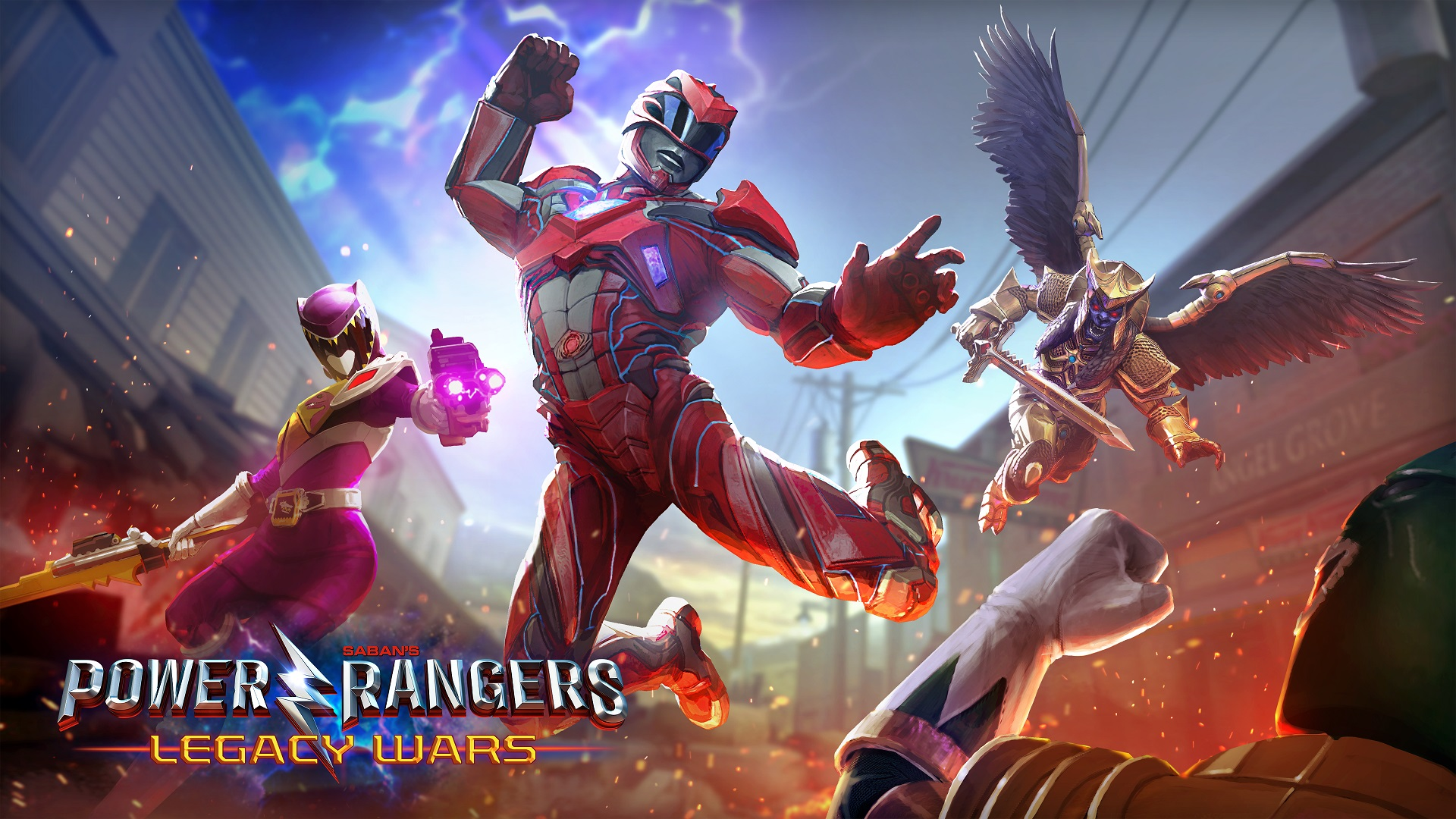 Power Rangers Legacy Wars Official Launch Kongbakpao