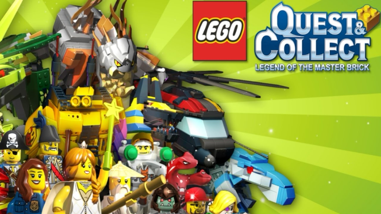 lego quest  collect legend of the master brick