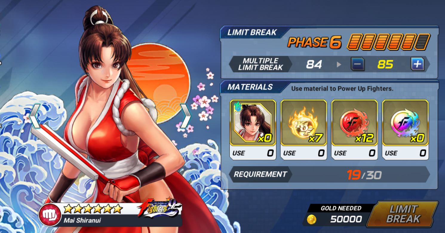The King Of Fighters Allstar Guide Strengthening Fighters